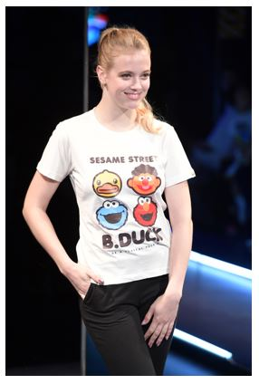 B. Duck Sesame Street Apparel