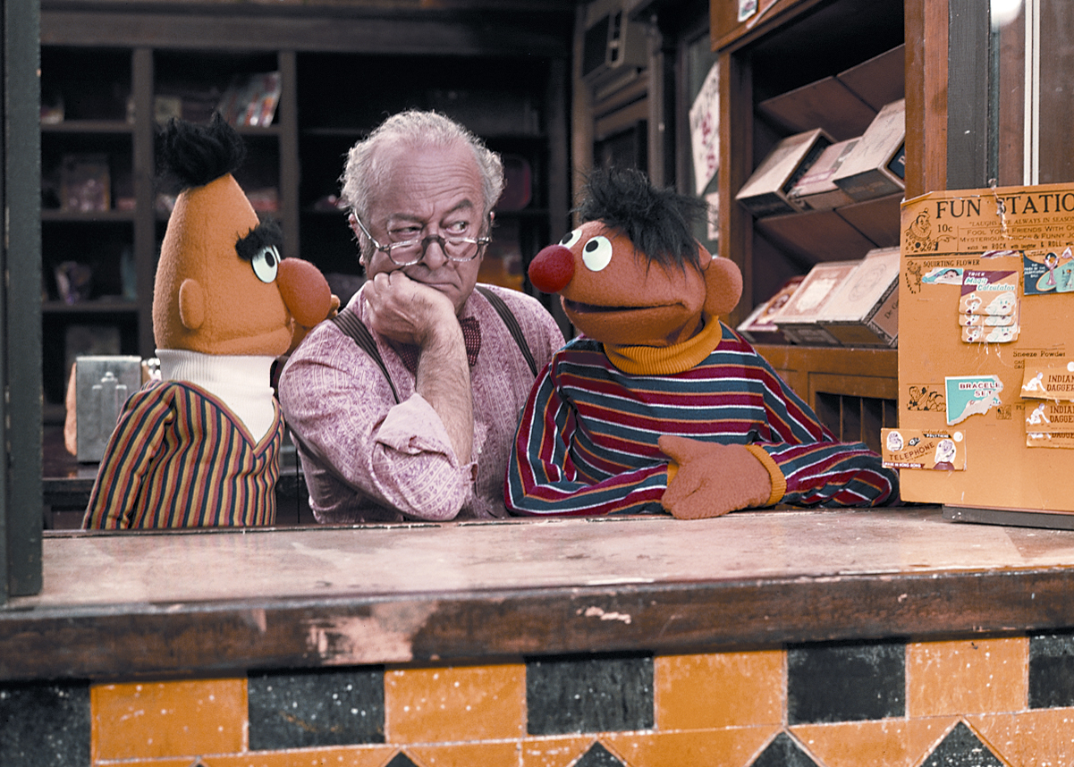 Mr. Hooper Sesame Street